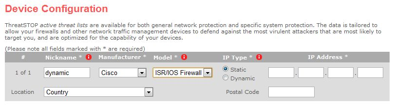 ThreatSTOP adds support for firewalls with dynamic IPs