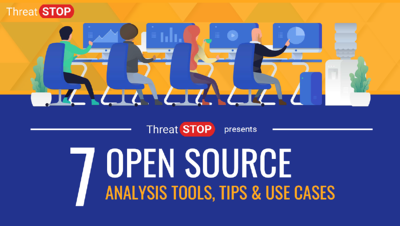 ThreatSTOP Recommends: Free Open Source Analysis Tools